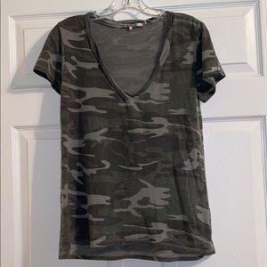 Pam & Gela Faded Camo T-Shirt